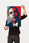 Poster Art Digital Obama - loja online