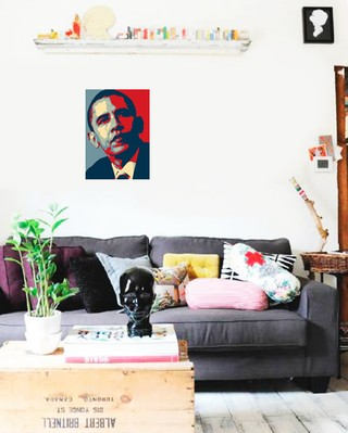 Imagem do Poster Art Digital Obama