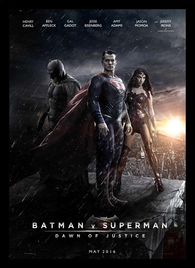 Quadro Poster Cinema Batman vs Superman 6