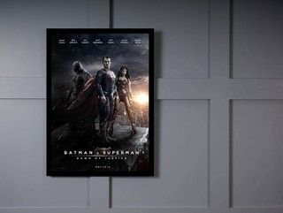 Quadro Poster Cinema Batman vs Superman 6 na internet