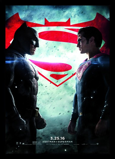 Quadro Poster Cinema Batman vs Superman 7