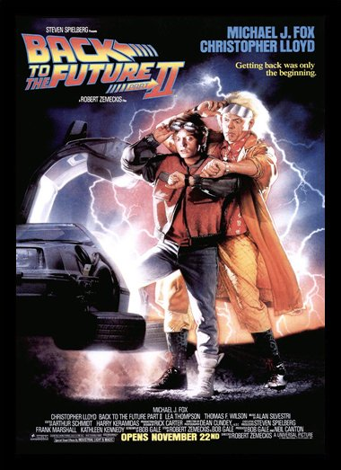 Quadro Poster Cinema Back to the Future 2