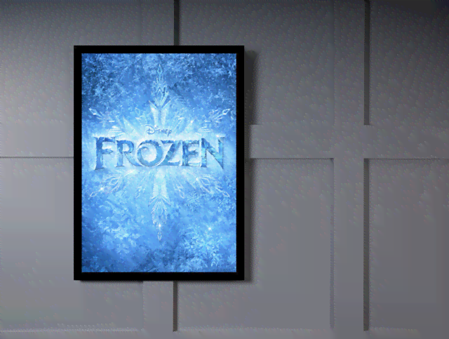 Quadro Poster Cinema Frozen 7 na internet