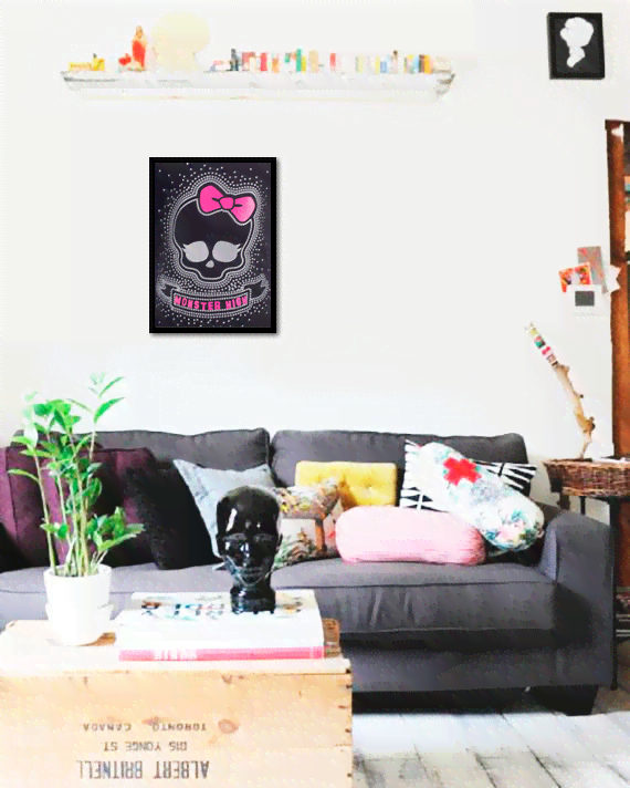 Quadro Poster Cinema Monster Higth 5 - comprar online