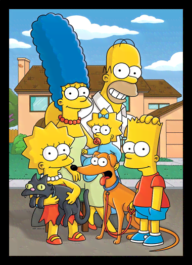Quadro Poster Cinema Simpsons 5
