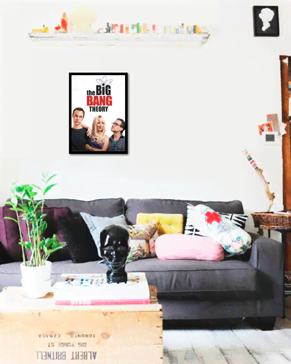 Quadro Poster Cinema The Big Bang Theory 1 - comprar online