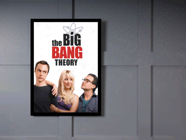 Quadro Poster Cinema The Big Bang Theory 1 na internet