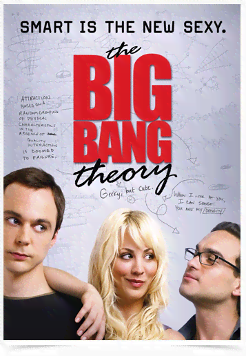 Poster Cinema The Big Bang Theory 2
