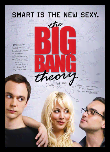Quadro Poster Cinema The Big Bang Theory 2