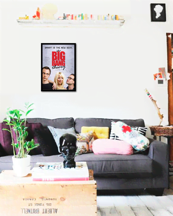 Quadro Poster Cinema The Big Bang Theory 2 na internet