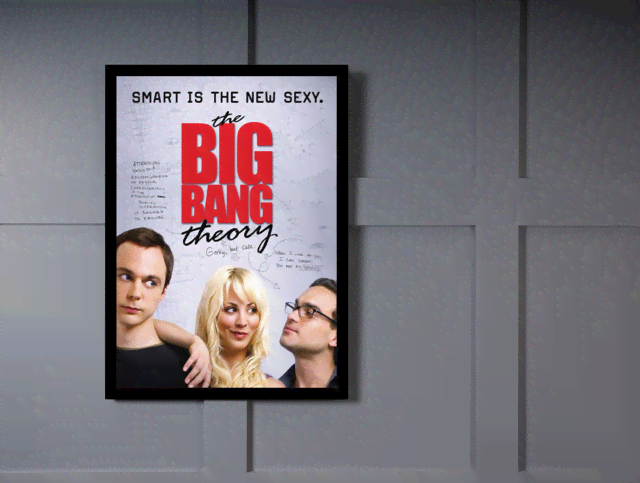 Quadro Poster Cinema The Big Bang Theory 2 - comprar online