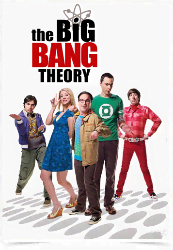 Poster Cinema The Big Bang Theory 3