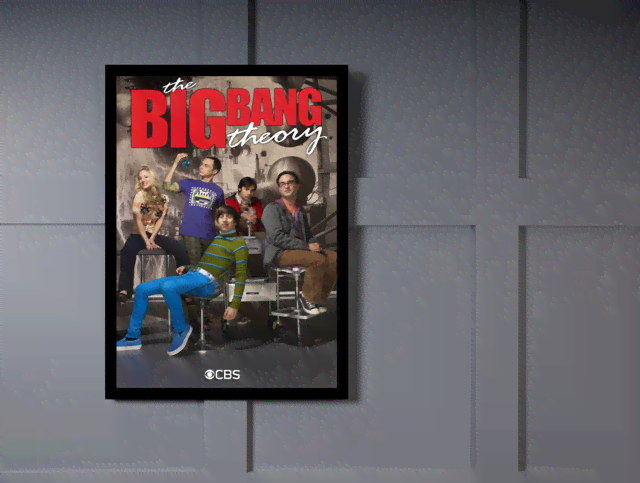Quadro Poster Cinema The Big Bang Theory 4 na internet