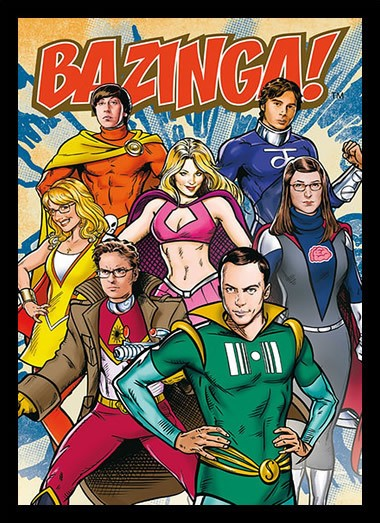 Quadro Poster Cinema The Big Bang Theory 5 - Decor10