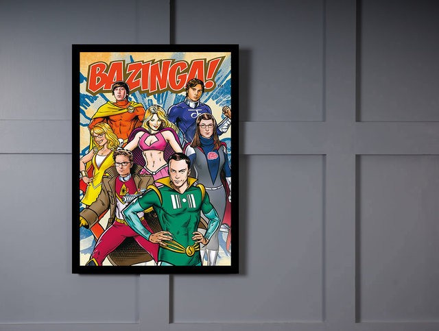 Quadro Poster Cinema The Big Bang Theory 5 - comprar online
