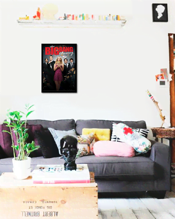 Quadro Poster Cinema The Big Bang Theory 6 na internet