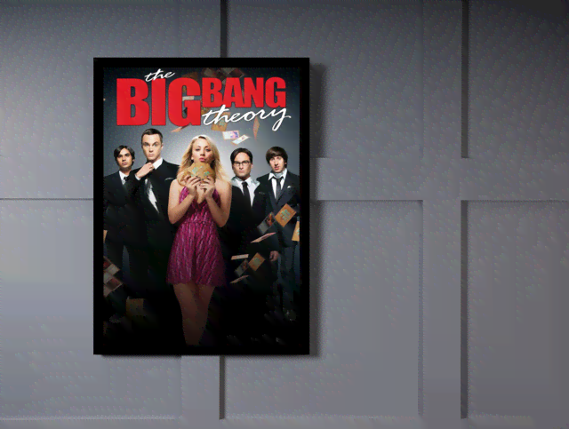 Quadro Poster Cinema The Big Bang Theory 6 - comprar online