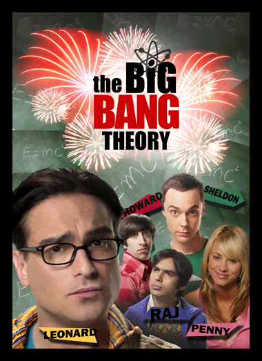 Quadro Poster Cinema The Big Bang Theory 7