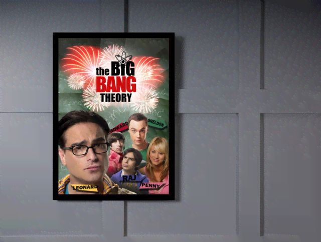 Quadro Poster Cinema The Big Bang Theory 7 na internet