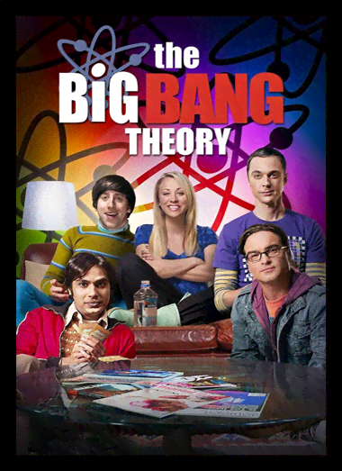 Quadro Poster Cinema The Big Bang Theory 8