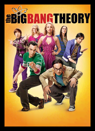 Quadro Poster Cinema The Big Bang Theory 9
