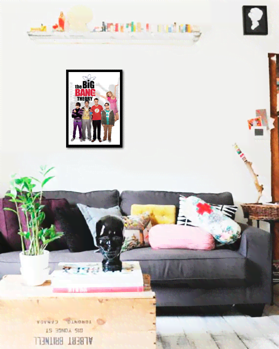 Quadro Poster Cinema The Big Bang Theory 10 - comprar online