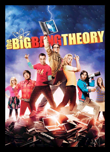 Quadro Poster Cinema The Big Bang Theory 11