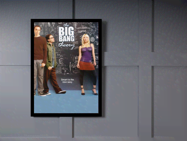Quadro Poster Cinema The Big Bang Theory 12 na internet