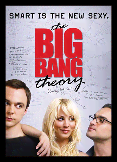 Quadro Poster Cinema The Big Bang Theory 13