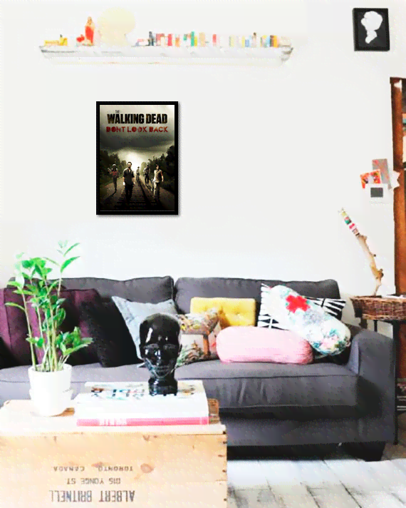Quadro Poster Cinema The Walking Dead 1 - comprar online