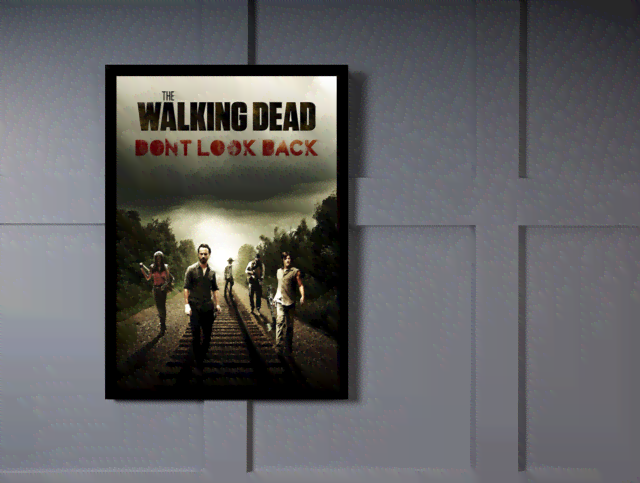 Quadro Poster Cinema The Walking Dead 1 na internet