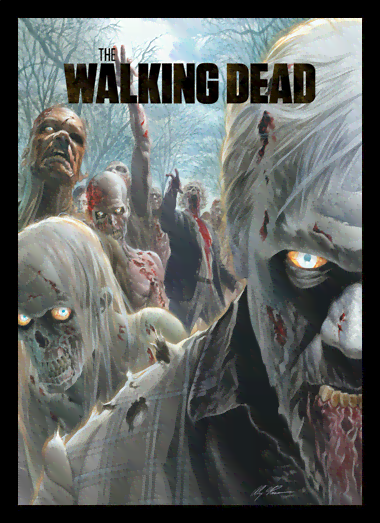 Quadro Poster Cinema The Walking Dead 3