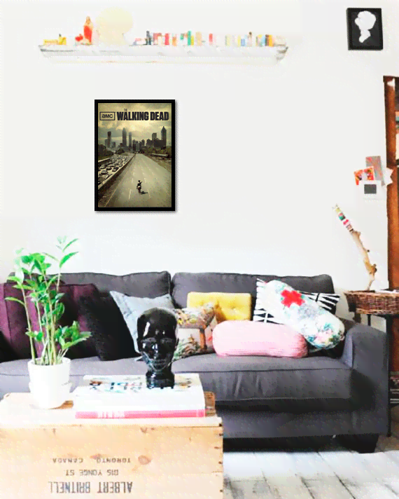 Quadro Poster Cinema The Walking Dead 6 - comprar online