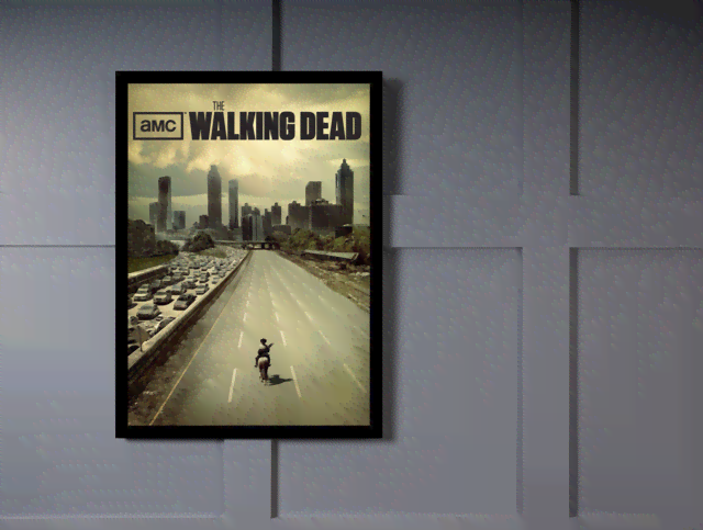 Quadro Poster Cinema The Walking Dead 6 na internet