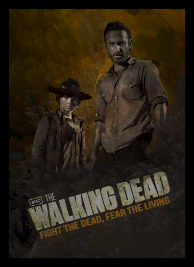 Quadro Poster Cinema The Walking Dead 10