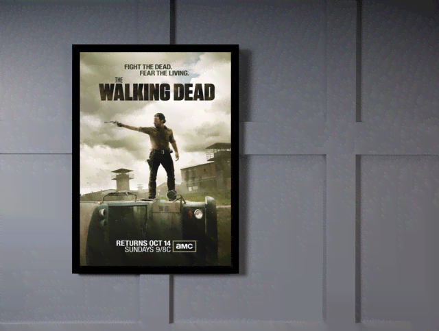 Quadro Poster Cinema The Walking Dead 11 na internet