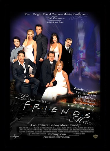 Quadro Poster Cinema Friends 3