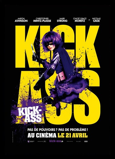 Quadro Poster Cinema Kick Ass 2