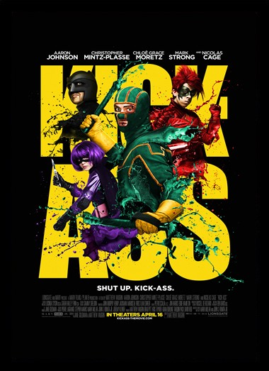 Quadro Poster Cinema Kick Ass 4