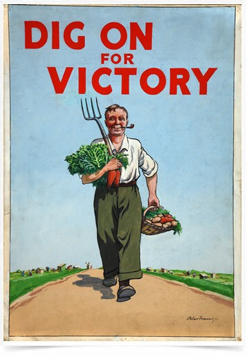 Poster Cozinha Dig On for Victory