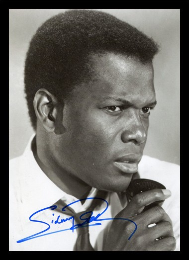 Quadro Poster Personalidades Sidney Poitier