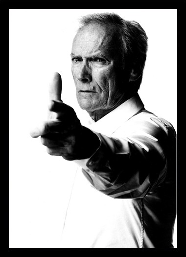 Quadro Poster Personalidades Clint Eastwood