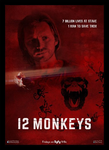 Quadro Poster Series 12 Monkeys 1
