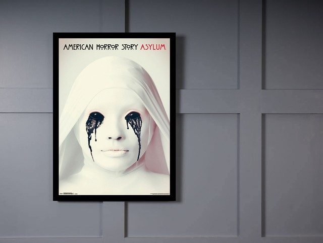 Quadro Poster Series American Horror Story Asylum 2 na internet