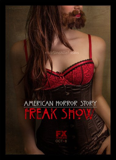 Quadro Poster Series American Horror Story Freak Show 3