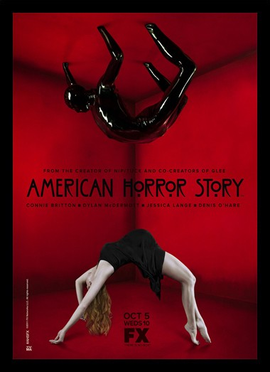 Quadro Poster Series American Horror Story Red 2