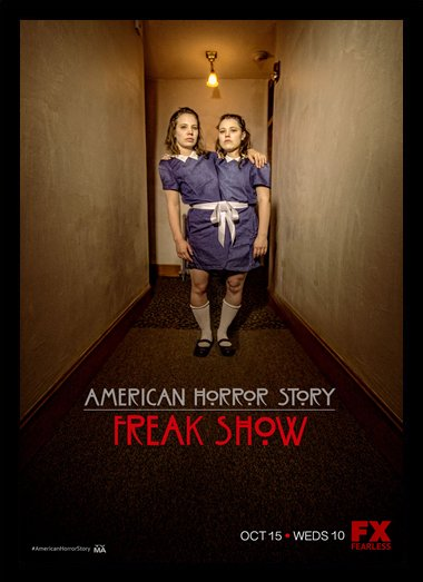 Quadro Poster Series American Horror Story Freak Show 5