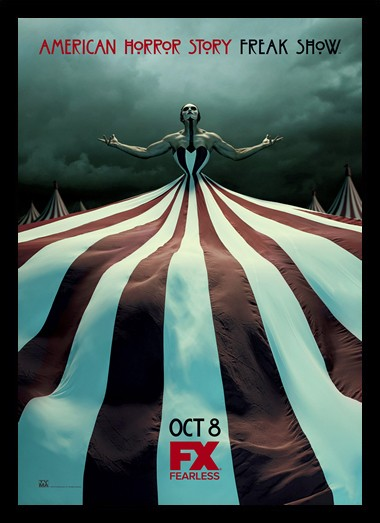 Quadro Poster Series American Horror Story Freak Show 7