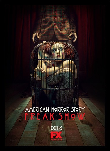 Quadro Poster Series American Horror Story Freak Show 8