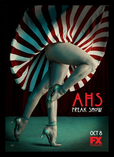 Quadro Poster Series American Horror Story Freak Show 9